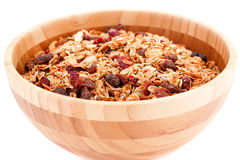 Muesli in the bowl Stock Photos
