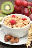 Muesli breakfast Stock Photos