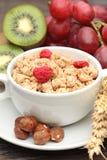 Muesli breakfast Stock Photos