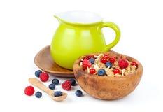 Muesli breakfast Royalty Free Stock Photography