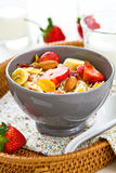 Muesli breakfast Royalty Free Stock Photos