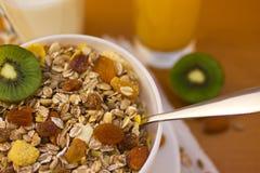 Muesli breakfast 9 Stock Images