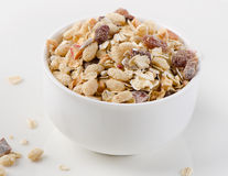 Muesli for breakfast in a bowl Royalty Free Stock Photography