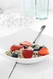 Muesli Breakfast II Royalty Free Stock Images