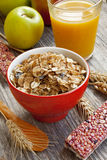 Muesli breakfast Stock Image