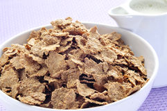 Muesli at breakfast time Stock Photos
