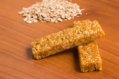 Muesli Cereal Bars. Nutri, Oat, Protein Bars. Stock Photography