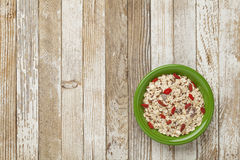 Muesli cereal bowl Royalty Free Stock Photo