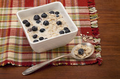 Muesli cereal breakfast Royalty Free Stock Image