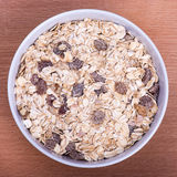 Muesli, close up Stock Photo