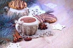 Muesli con el yogur y la fruta fresca Imagen de archivo