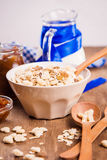 Muesli with confiture Royalty Free Stock Image