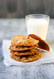 Muesli cookies Stock Photos