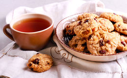 Muesli crunchy cookies Royalty Free Stock Photography
