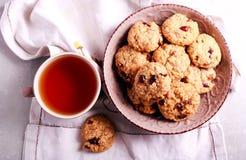 Muesli crunchy cookies Royalty Free Stock Image