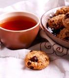 Muesli crunchy cookies Stock Photo