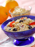 Muesli de Bircher Photographie stock