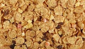 Muesli de granola avec haut étroit sec de fruits Image stock
