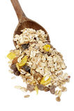 Muesli dish Royalty Free Stock Photography