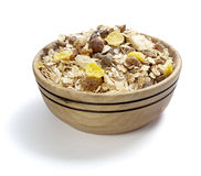 Muesli dish Royalty Free Stock Images