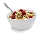 Muesli dish Stock Photography