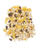Muesli flakes mix royalty free stock photos