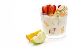 Muesli with fresh Fruits Stock Image