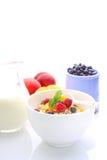 Muesli (granola) met bessen Stock Foto's