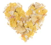 Muesli heart Royalty Free Stock Photo