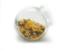 Muesli in a jar Stock Images