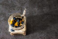 Muesli Jar Stock Photo