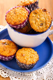 Muesli muffins Stock Image