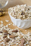 Muesli with nuts Royalty Free Stock Photography