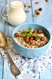 Muesli with nuts. Stock Photography