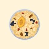 Muesli oats granola Royalty Free Stock Images