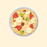 Muesli oats granola Stock Photos