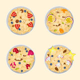 Muesli oats granola Stock Photography
