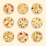 Muesli oats granola Royalty Free Stock Image