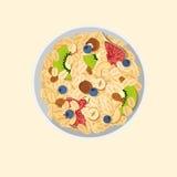 Muesli oats granola Stock Photo