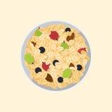 Muesli oats granola Royalty Free Stock Photography
