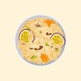 Muesli oats granola Royalty Free Stock Photo