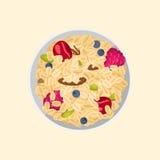 Muesli oats granola Stock Images