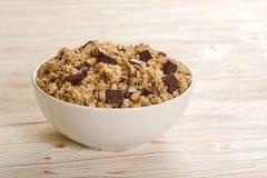 Muesli-Schokolade Lizenzfreie Stockfotos