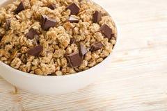 Muesli-Schokolade Stockbilder