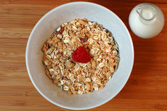 Muesli Topview Stock Photo