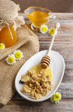 Muesli whit honey Royalty Free Stock Photos