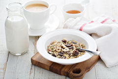 Free Muesli With Nuts And Dried Fruits Royalty Free Stock Photos - 66173418