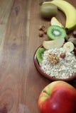 Muesli z owoc Zdjęcie Royalty Free