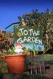 Muestra 2 del jardín imagen de archivo libre de regalías