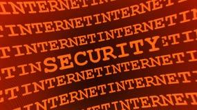 Muestra abstracta de la seguridad Imagen de archivo